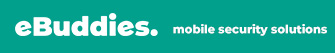 ebuddies. mobile security solutions Logo
